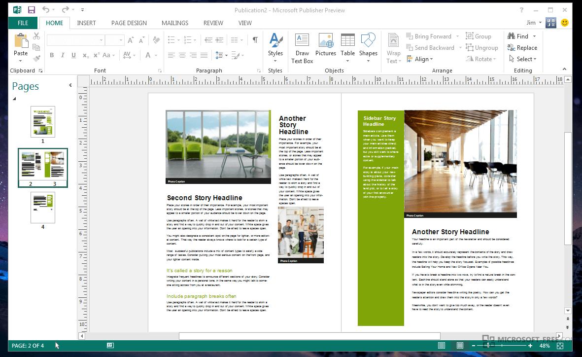 Microsoft publisher 2007 програмку официальный веб-сайт