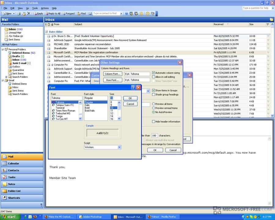 скачать торрент Outlook 2003 img-1