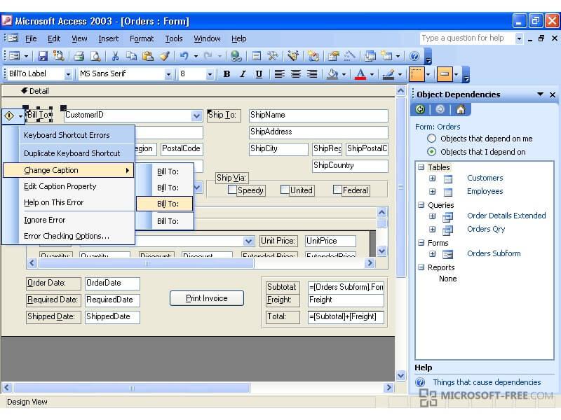 Скачать программу базу данных в access