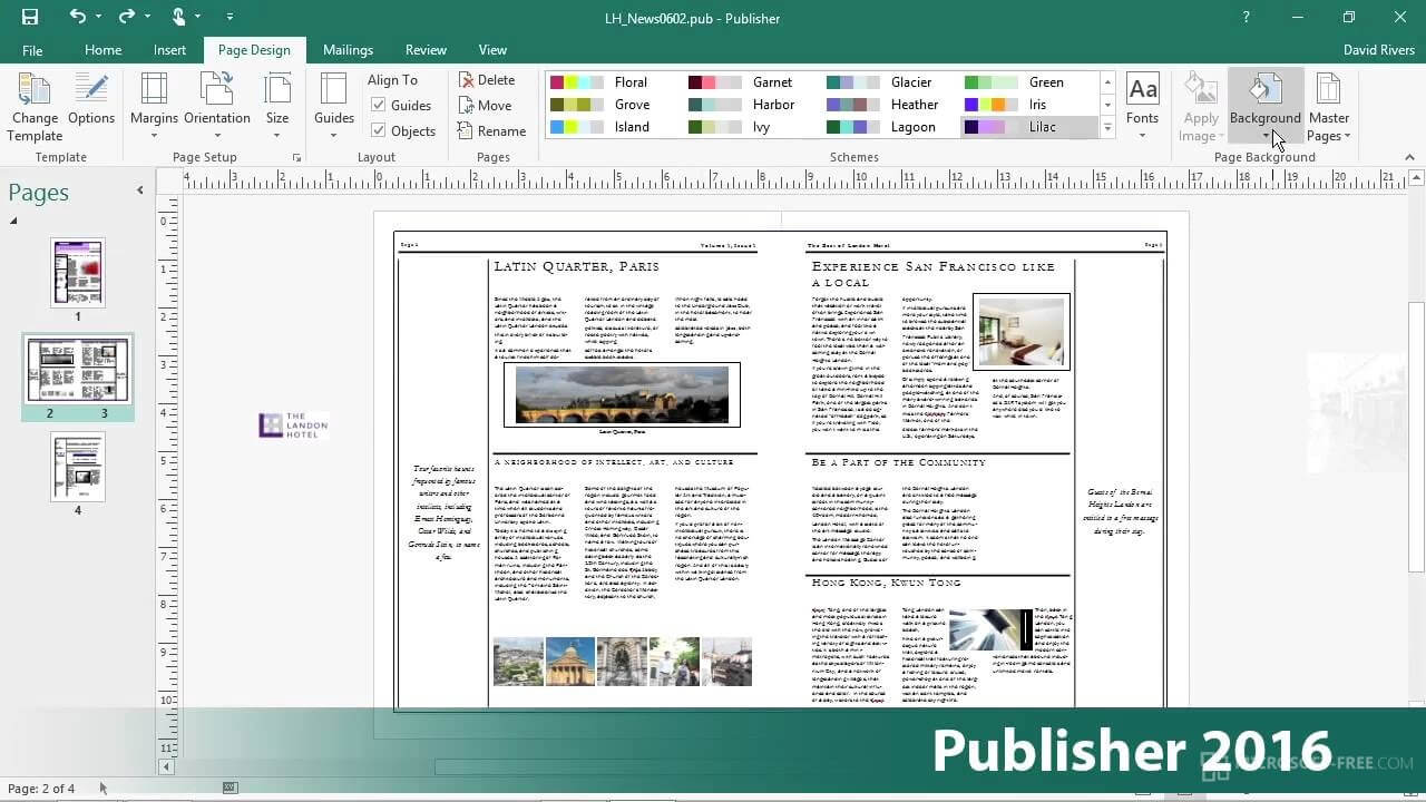 microsoft publisher 2017